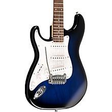 G&L Tribute Legacy Left-Handed Electric Guitar Level 1 Blue Burst Rosewood Fretboard