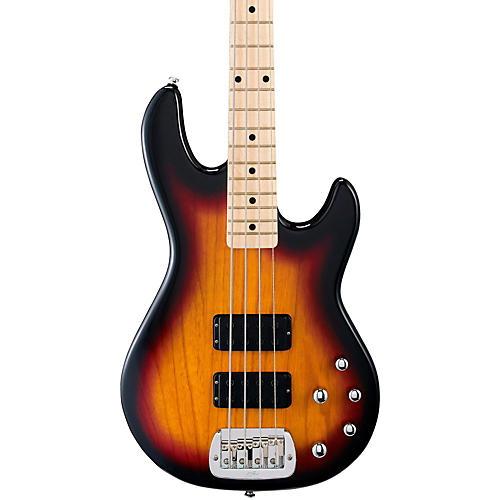 G&L Tribute M2000 4-String Electric Bass 3-Color Sunburst Maple Fretboard