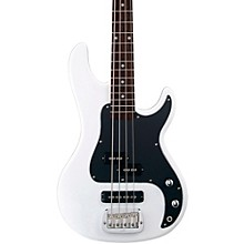 Tribute SB2 Electric Bass Guitar Gloss White Rosewood Fretboard