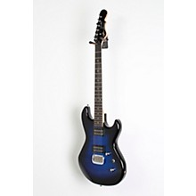 G&L Tribute Superhawk Deluxe Jerry Cantrell  Electric Guitar Level 2 Blue Burst 190839103451