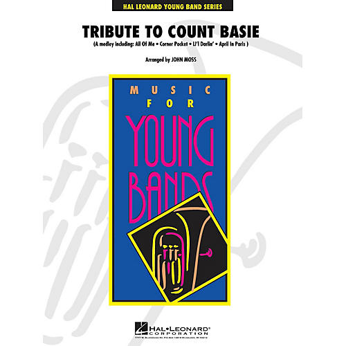 Hal Leonard Tribute to Count Basie - Young Concert Band Level 3 by John Moss-thumbnail