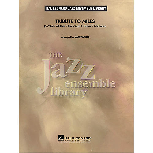 Hal Leonard Tribute to Miles Jazz Band Level 4 by Miles Davis Arranged by Mark Taylor-thumbnail