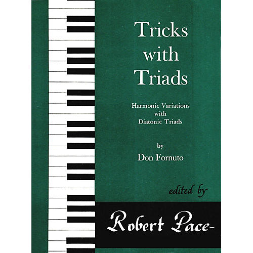 Lee Roberts Tricks with Triads - Set I Pace Piano Education Series Composed by Don Fornuto-thumbnail