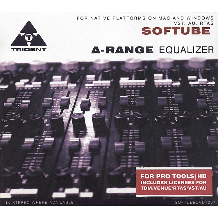 Softube Trident A-Range EQ Plug-in - TDM Software  Download