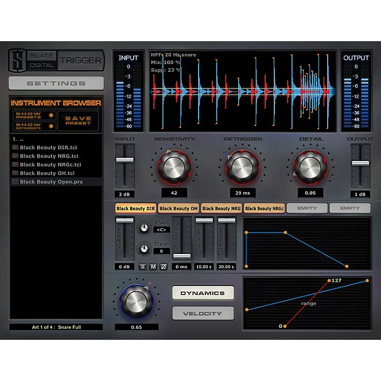 Steven Slate DrumsTrigger EX Drum Replacer and Sample Library Plug-Ins