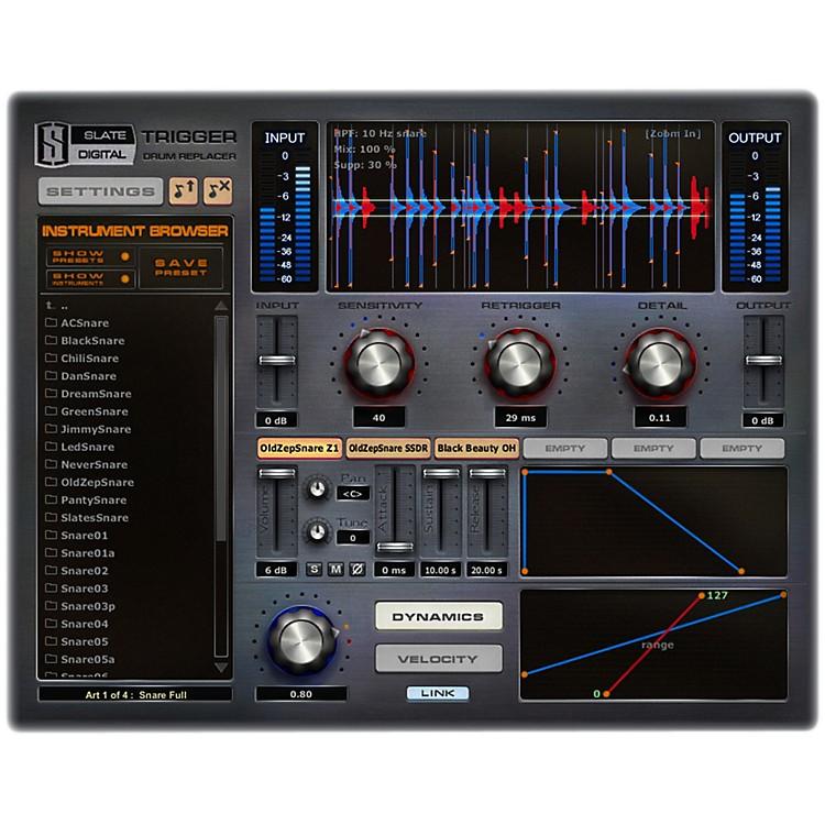 Slate DigitalTrigger EX Drum Replancemnent Software DownloadSoftware Download