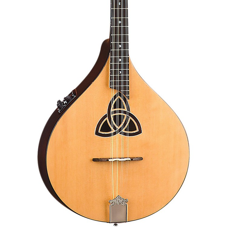 Luna GuitarsTrinity Acoustic-Electric BouzoukiNatural