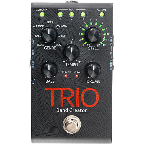 digitech trio band creator guitar effects pedal musician 39 s friend. Black Bedroom Furniture Sets. Home Design Ideas