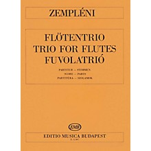 Editio Musica Budapest Trio EMB Series Composed by László Zempléni