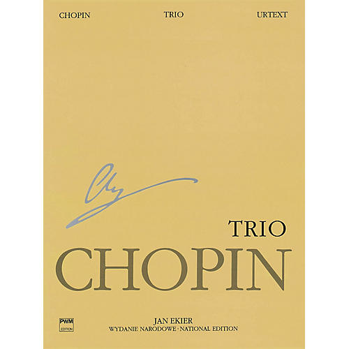 PWM Trio Op. 8 for Piano, Violin and Cello PWM Series Composed by Frédéric Chopin Edited by Jan Ekier-thumbnail