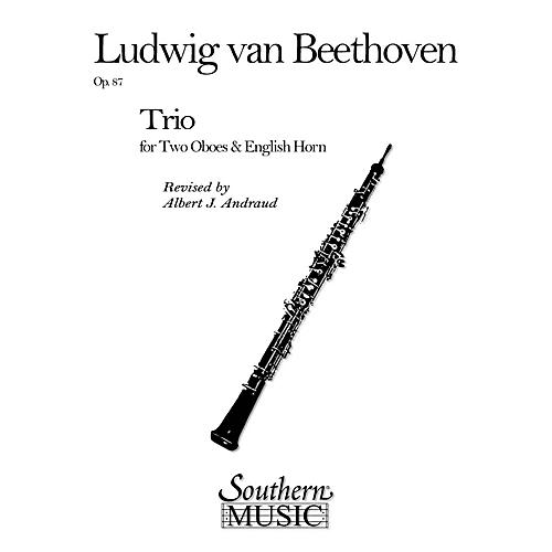 Southern Trio Op. 87 (2 Oboes/English Horns) Southern Music Series Arranged by Albert Andraud-thumbnail