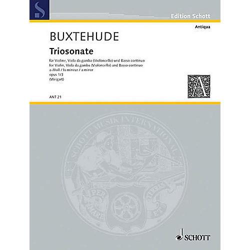 Schott Trio Sonata Op. 1/3 A Min Vn/vdg Schott Series-thumbnail