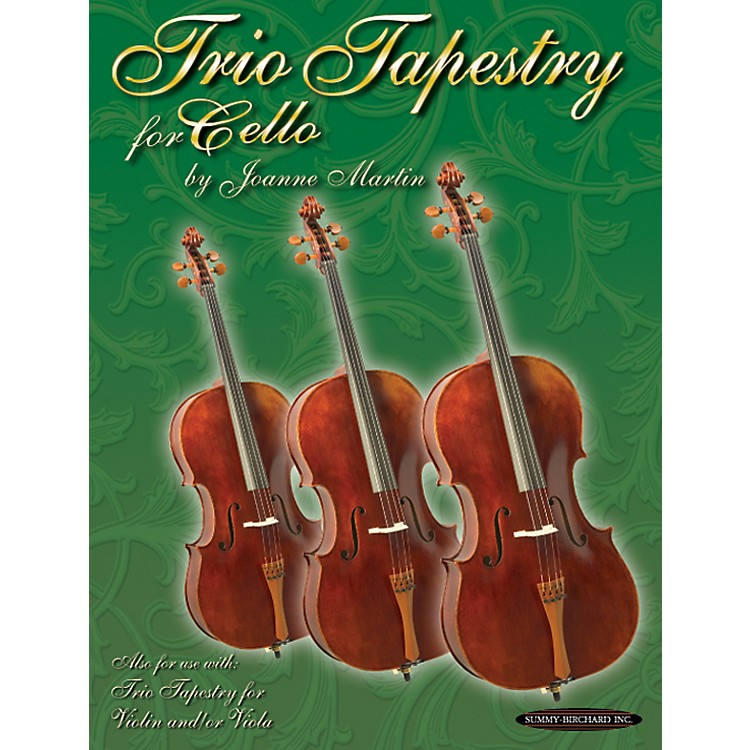 Alfred Trio Tapestry for Cello Book