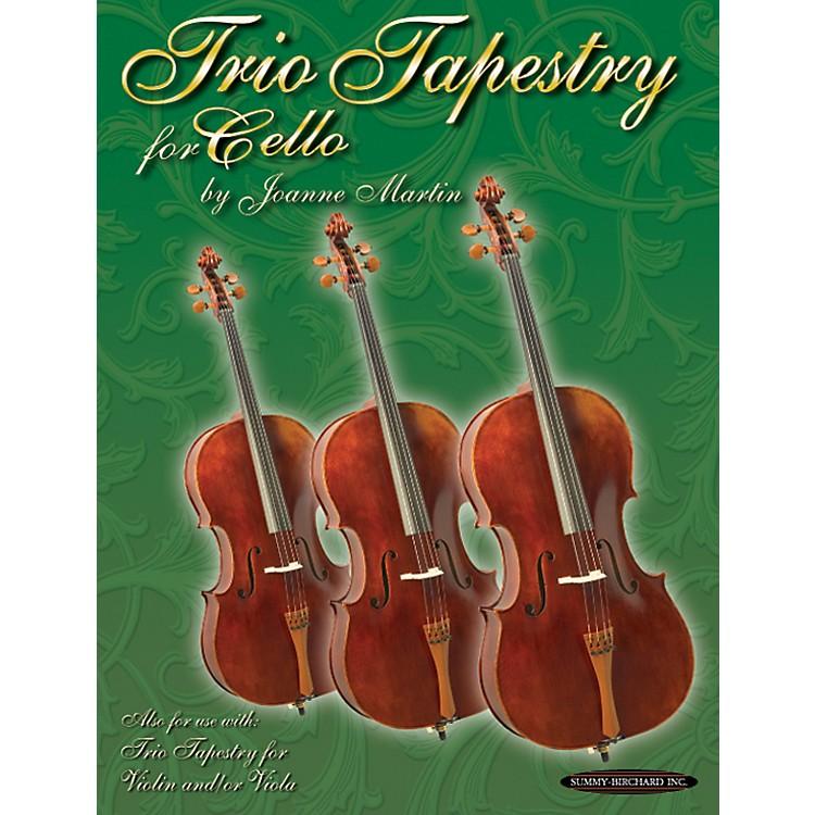AlfredTrio Tapestry for Cello Book