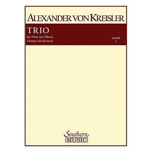 Southern Trio (Woodwind Trio) Southern Music Series by Alexander von Kreisler-thumbnail