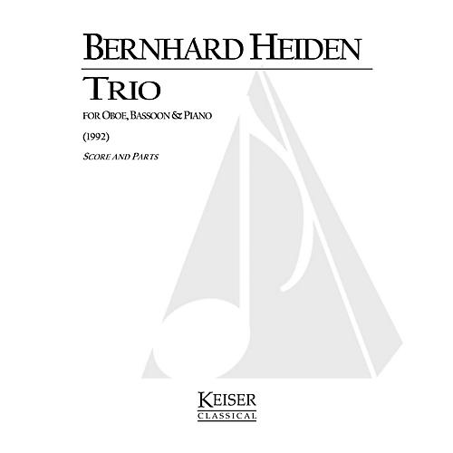 Lauren Keiser Music Publishing Trio for Oboe, Bassoon and Piano LKM Music Series Composed by Bernhard Heiden-thumbnail