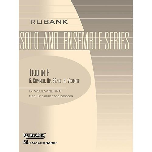 Rubank Publications Trio in F (Woodwind Trio - Grade 3) Rubank Solo/Ensemble Sheet Series-thumbnail