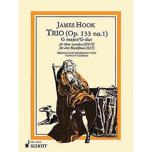 Schott Trio in G Major, Op. 133, No. 1 Schott Series by James Hook Arranged by Stanley Godman