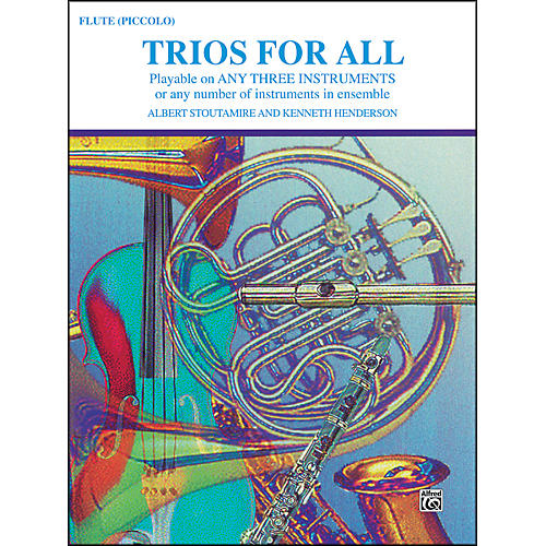 Alfred Trios for All Flute Piccolo