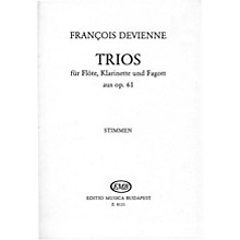 Editio Musica Budapest Trios for Flute, Clarinet, and Bassoon, Op. 61 EMB Series by François Devienne
