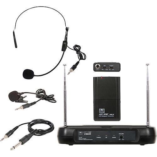 Galaxy Audio Triple Play Diversity VHF Wireless Belt Pack System Freq Code V61