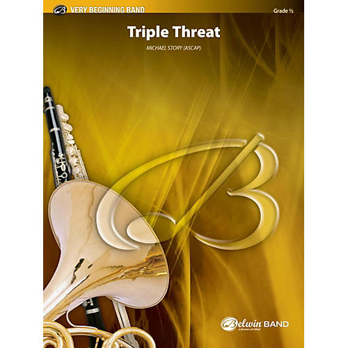 Alfred Triple Threat Concert Band Grade 0.5-thumbnail