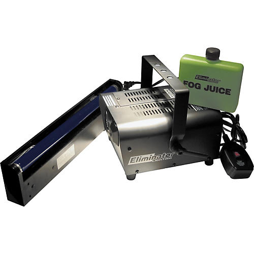 Eliminator Lighting Triple Threat Fog Machine Moonflower Combo and 2