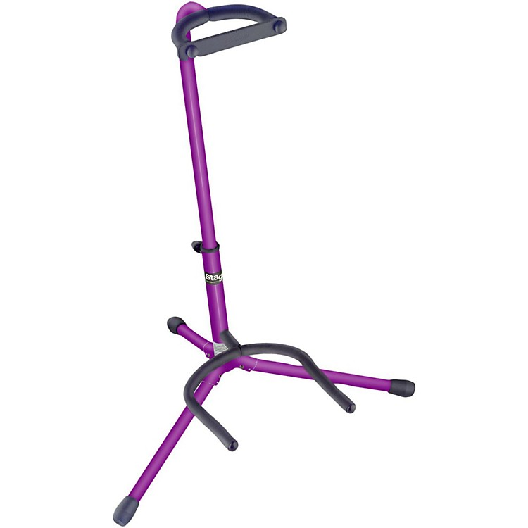 Stagg Tripod Guitar Stand Purple