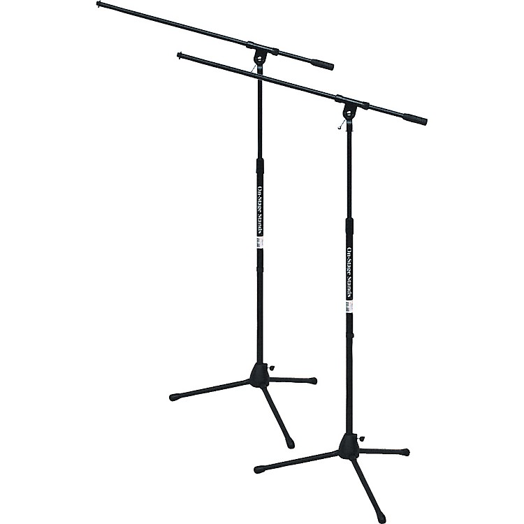 On-Stage Stands Tripod Mic Stand With Boom Buy One Get One Free