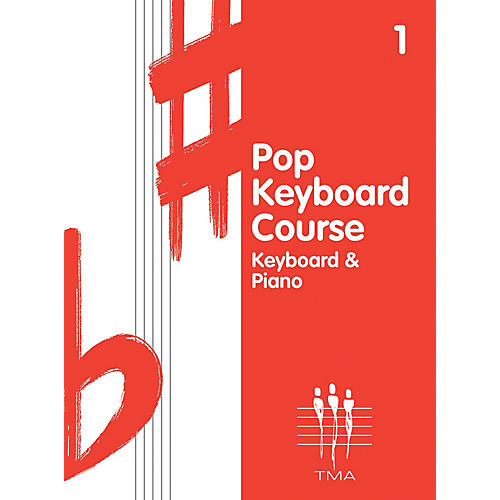 Hal Leonard Tritone Pop Keyboard Course - Book 1 (Book 1 - Revised) Piano Method Series Written by Various Authors-thumbnail