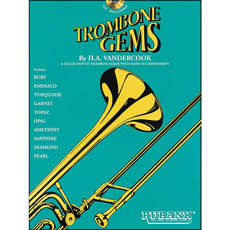 Hal Leonard Trombone Gems (Book/CD)