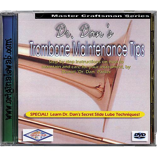 Dr. Dan's Trombone Maintenance DVD