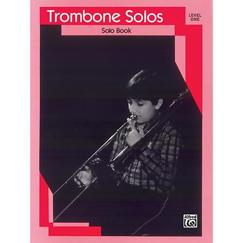 Alfred Trombone Solos Level I Solo Book