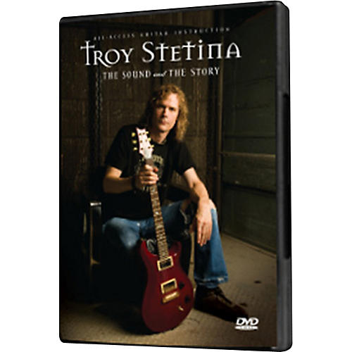 Fret12 Troy Stetina - The Sound and The Story DVD US Version