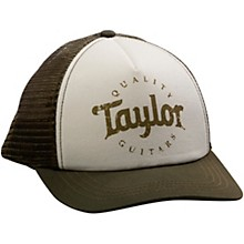Taylor Trucker Cap Olive/Cream Adjustable