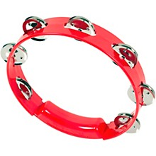 RhythmTech True Colors Tambourine Red 8 in.