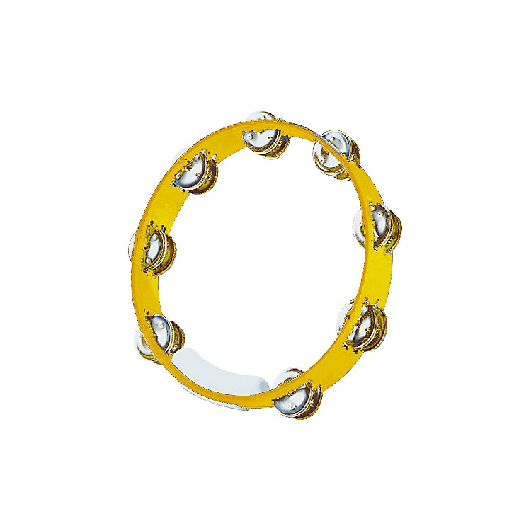 RhythmTech True Colors Tambourine Yellow 10 inch