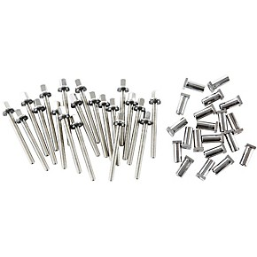 dw true pitch snare drum tension rods 20 pack musician 39 s friend. Black Bedroom Furniture Sets. Home Design Ideas