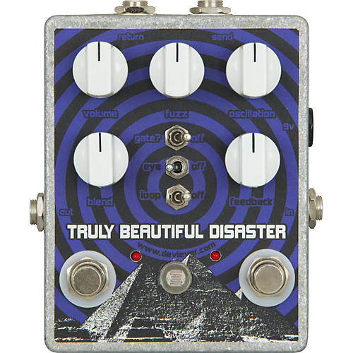 Devi Ever Truly Beautiful Disaster Fuzz Guitar Effects Pedal