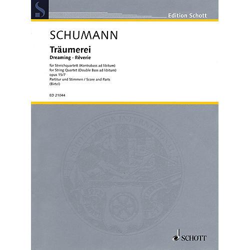Schott Träumerei, Op. 15, No. 7 String Series Softcover Composed by Robert Schumann Arranged by Wolfgang Birtel-thumbnail