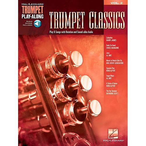 Hal Leonard Trumpet Classics - Trumpet Play-Along Vol. 2 (Book/Audio)-thumbnail