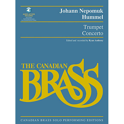 Hal Leonard Trumpet Concerto Brass Solo Series Softcover with CD Performed by The Canadian Brass-thumbnail