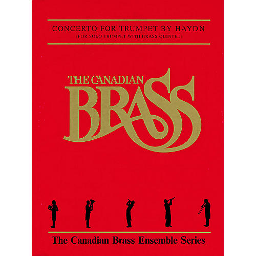 Canadian Brass Trumpet Concerto (Score and Parts) Brass Ensemble Series by Franz Joseph Haydn-thumbnail