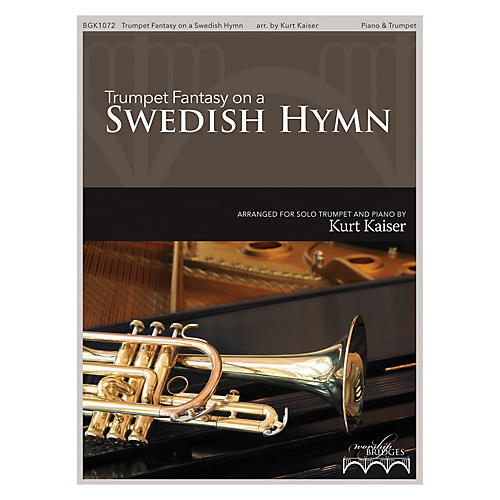 Fred Bock Music Trumpet Fantasy on a Swedish Hymn (How Great Thou Art)-thumbnail