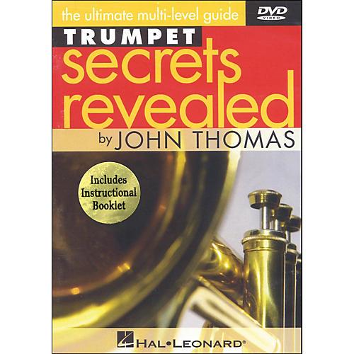 Hal Leonard Trumpet Secrets Revealed DVD Featuring John Thomas