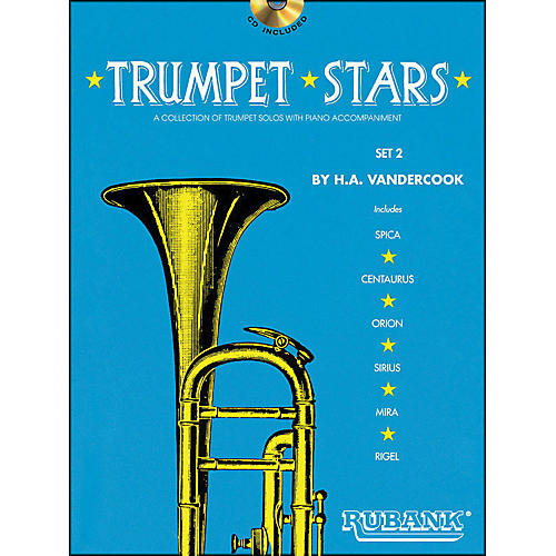 Hal Leonard Trumpet Stars Set 2 Book/CD