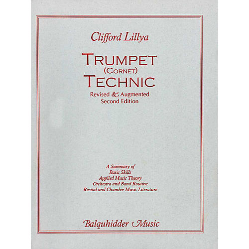 Carl Fischer Trumpet Technic Book