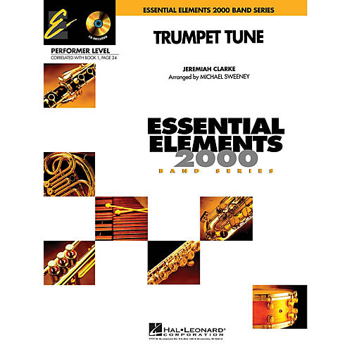 Hal Leonard Trumpet Tune (Includes Full Performance CD) Concert Band Level .5 to 1 Arranged by Michael Sweeney-thumbnail