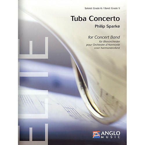 Anglo Music Press Tuba Concerto (Score Only) Concert Band-thumbnail