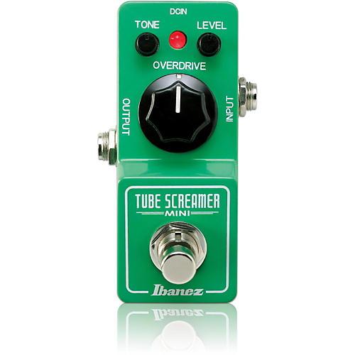 ibanez tube screamer mini guitar effect pedal musician 39 s friend. Black Bedroom Furniture Sets. Home Design Ideas